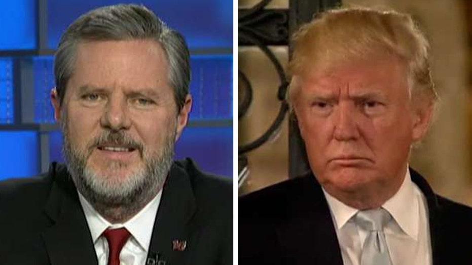Jerry Falwell Jr.: Efforts to delegitimize Trump are 'bogus'