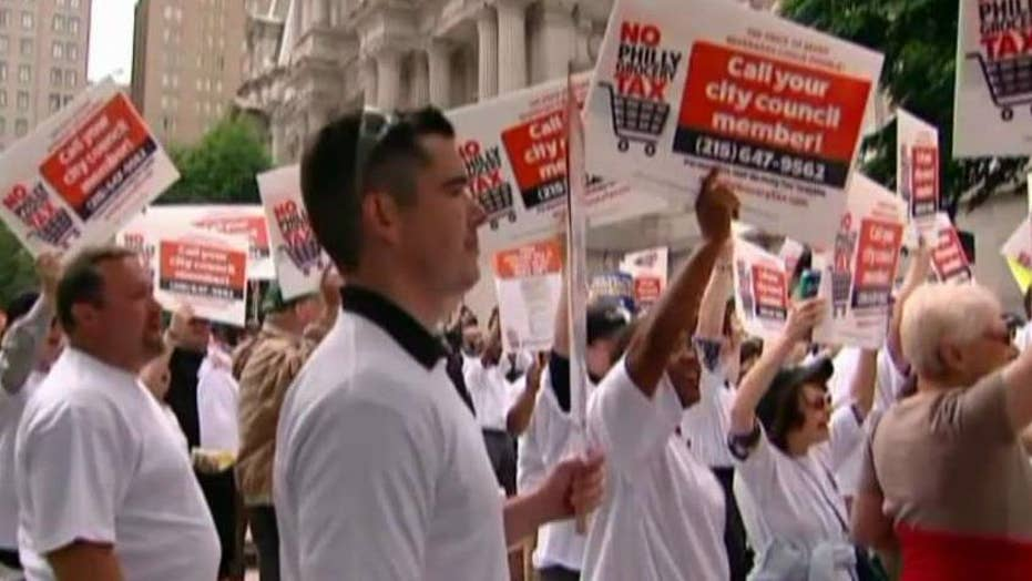 Philadelphia residents up in arms over soda tax hit
