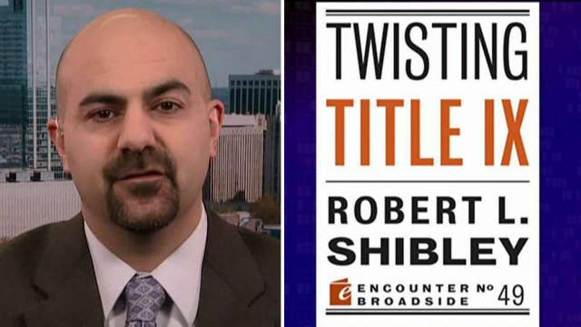 'Twisting Title IX': WH stifling free speech on campuses?