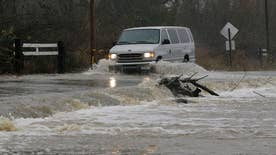 Thousands left without power and many roads are unpassable