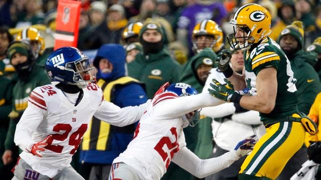 Giants vs. Packers: Behind the scenes at Lambeau Field