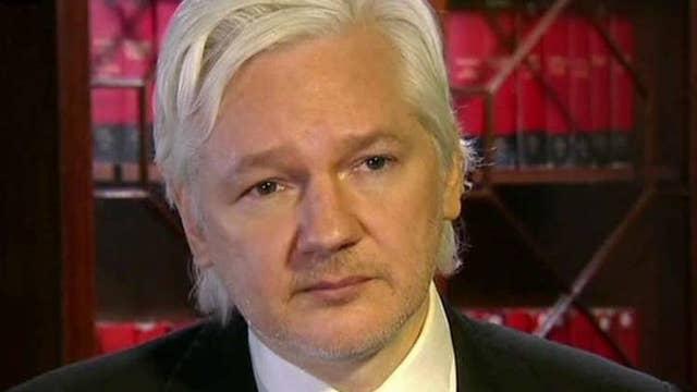 Julian Assange, hero on right?