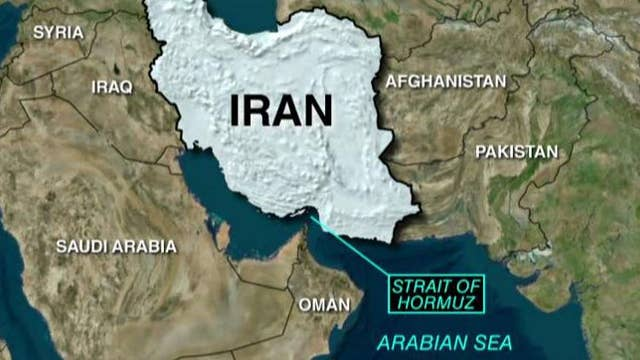 US ships fire warning shots at Iranian vessels