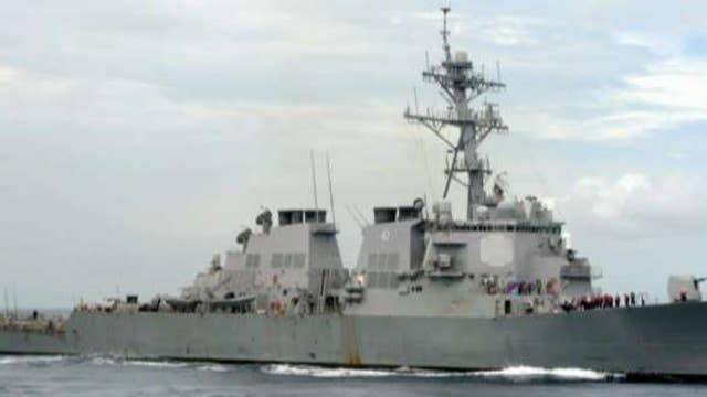 Officials: Iranian ship came close to USS Mahan