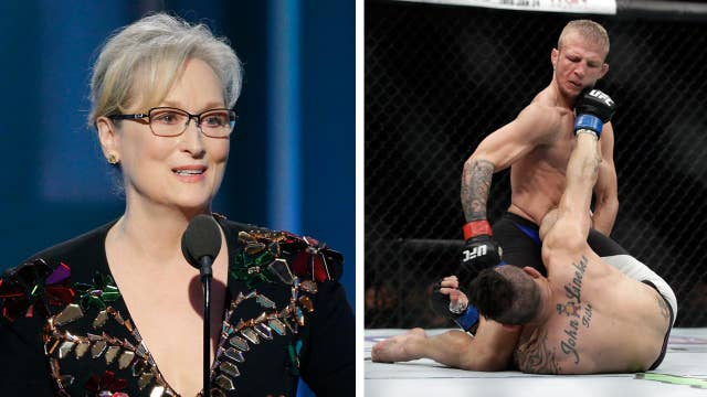 Meryl Streep also disses NFL, MMA in Trump speech