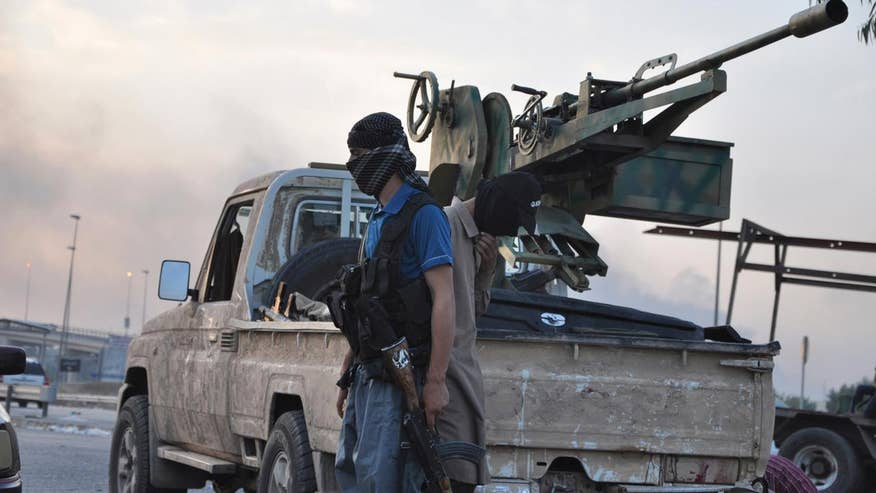 Oliver North is on the frontlines of what could be the last major battle against ISIS in Iraq