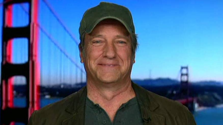 TV host Mike Rowe on Fiat Chrysler announcing $1B investment in US manufacturing, 2,000 new jobs, Ford Motor reversing decision to build $1.6 billion manufacturing plant in Mexico and the impact on the American psyche #Tucker