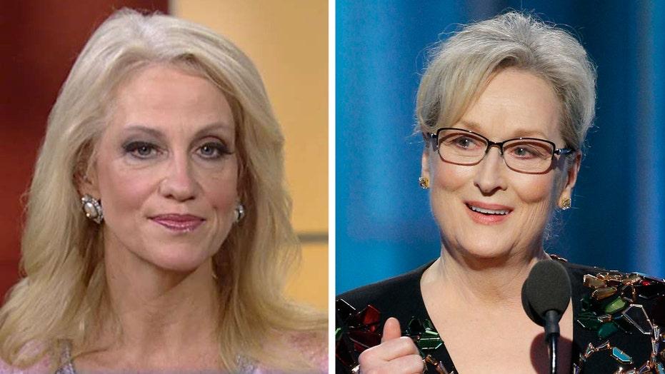 Kellyanne Conway responds to Meryl Streep's speech
