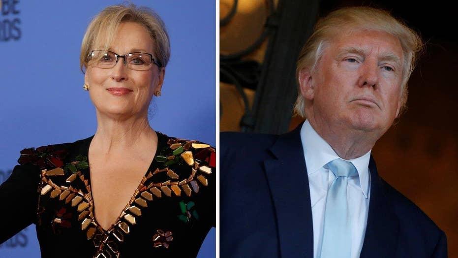 Golden Globes goes after Trump