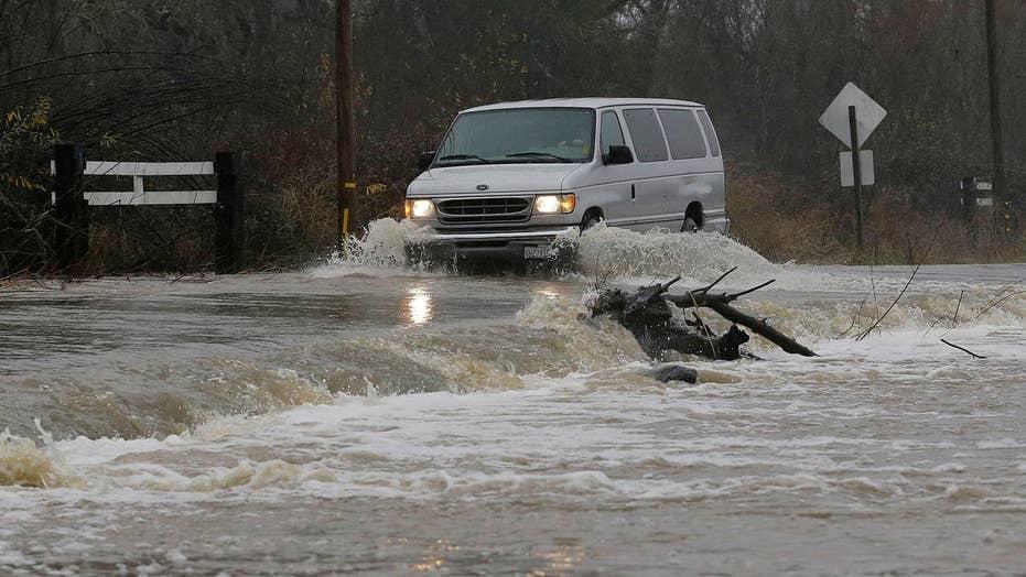 Heavy rain causes major flooding in California, Nevada