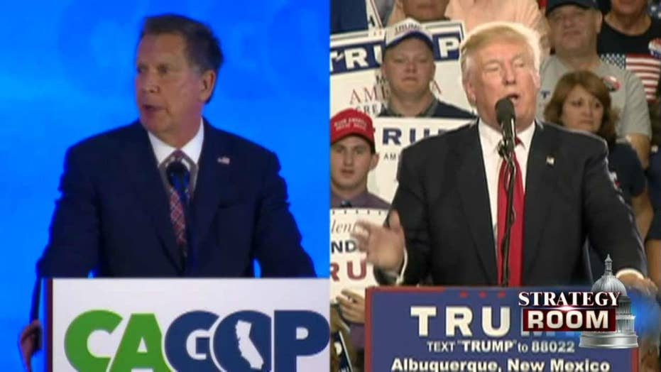 Trump exacts revenge on Kasich with Ohio GOP shakeup
