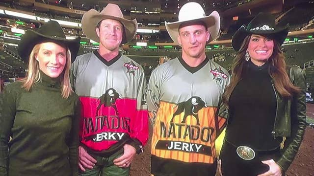'The Five' meet PBR stars at Madison Square Garden