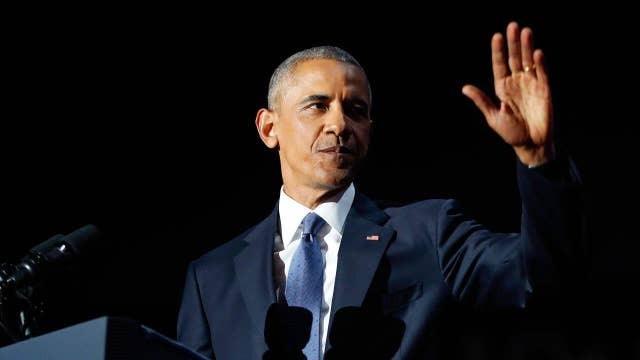 Obama delivers farewell address to the nation Part 1