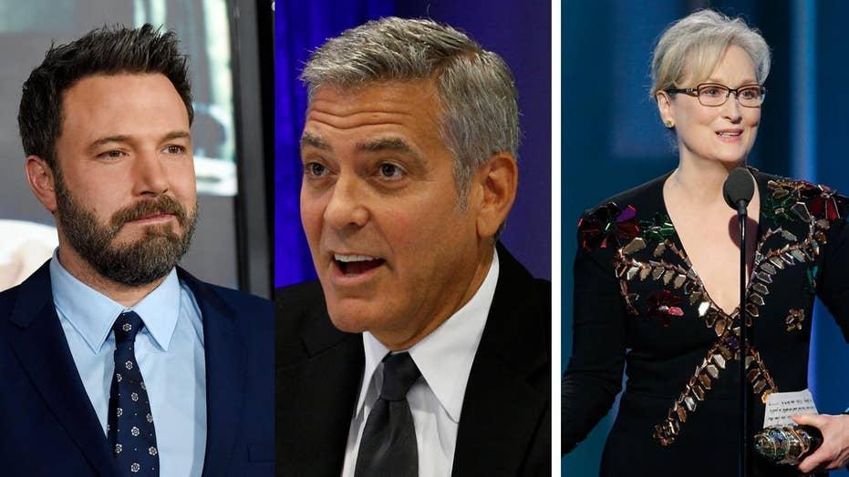 Ben Affleck, George Clooney defend Meryl Streep from Trump