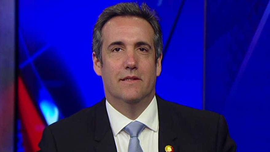 Trump attorney Cohen on intelligence dossier: 'I've never been to Prague and I've never been to Russia'