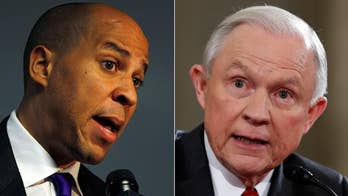 Ex-NFL star Burgess Owens: Booker vs. Sessions. Using racial division as a political strategy