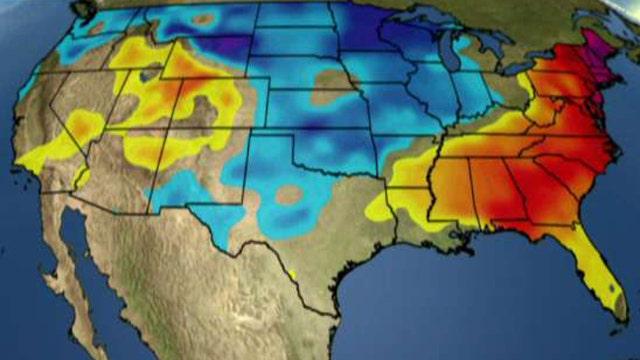 National forecast for Wednesday, January 11