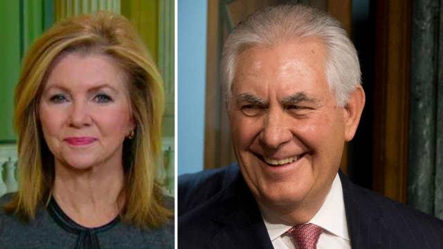 Rep. Blackburn: Tillerson will make easy transition to gov't