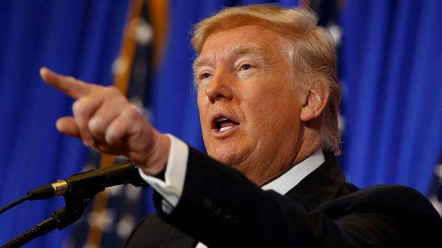 Trump blasts CNN reporter: You are fake news