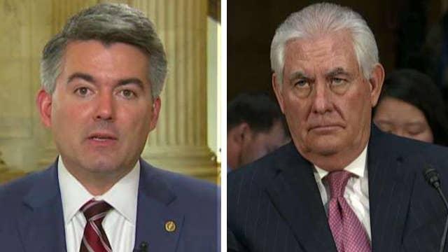 Sen. Gardner: Tillerson hearing providing clarity on Russia