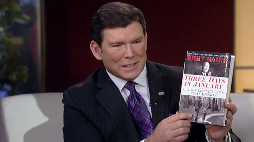 The 'Special Report' host talks about his new book on Eisenhower