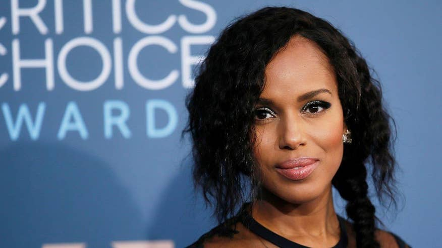 Four4Four: Kerry Washington insists 'less than a quarter of the country voted for our next President'