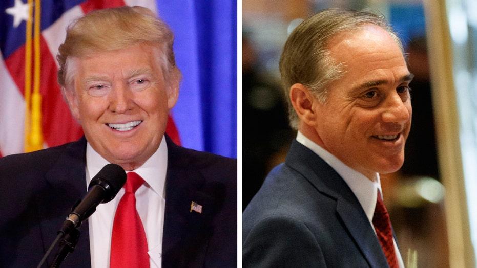 Trump taps David Shulkin to lead Veterans Affairs