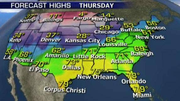 Winter storm expected to bring crippling ice across central US