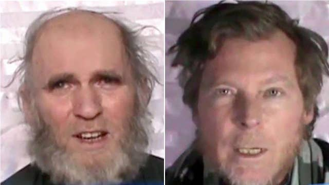 Taliban release video of hostages begging Trump to save them