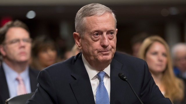 Gen. Mattis differs from Trump, voices support for NATO