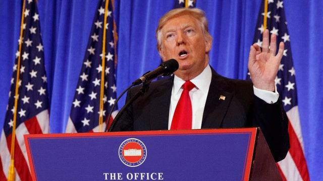 Trump making press conferences great again?