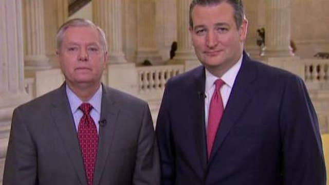 Ted Cruz and Lindsey Graham push bill that supports Israel
