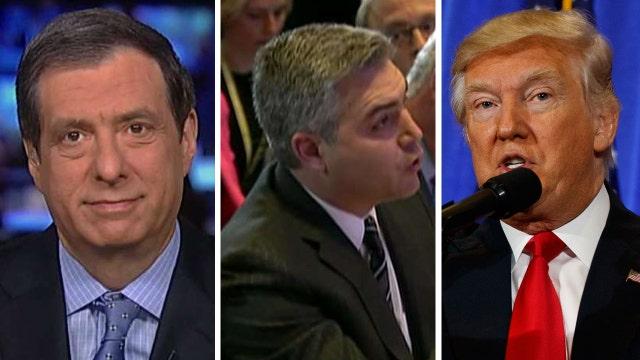 Kurtz: CNN reporter crossed a line at Trump press conference