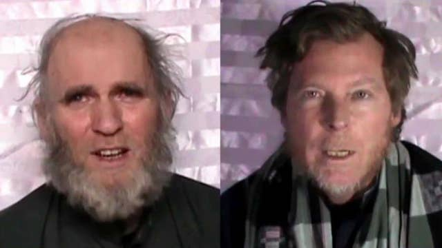 Taliban video purportedly shows US, Australian hostages