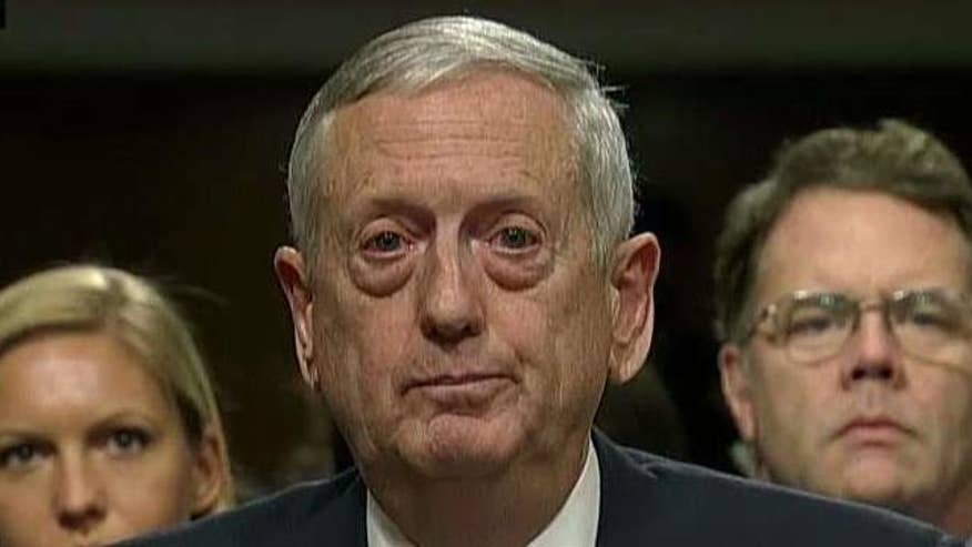Secretary of defense nominee makes opening statement at Senate confirmation hearing