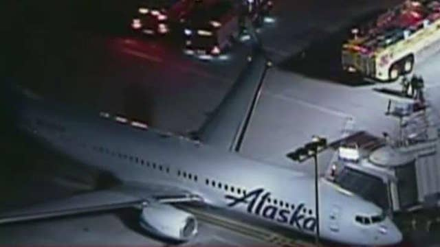 White powder blown through vents on flight