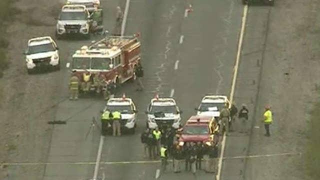 Hero passerby saves Arizona cop from gunman on highway