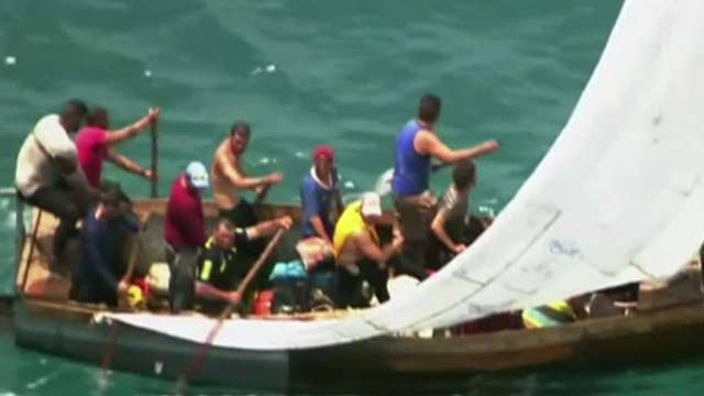 Obama ends 'wet foot, dry foot' policy for Cuban refugees