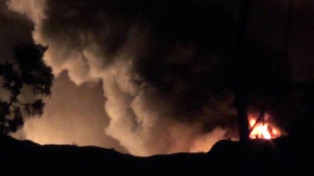 Syria blames Israel for airstrike near Damascus
