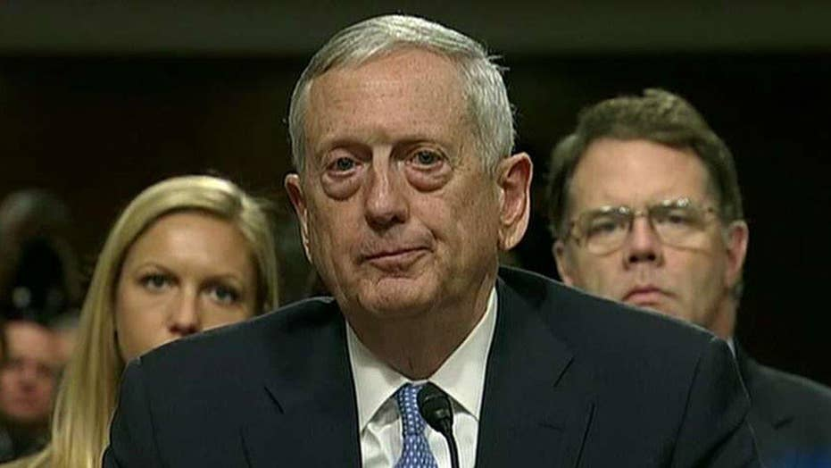 Senate approves General Mattis' eligibility waiver