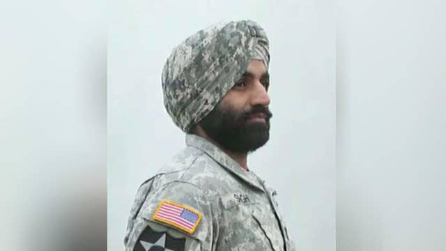 New Army policy allows turbans, hijabs and beards