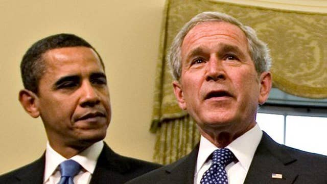 Democrats say Bush is to blame for Obama's failures