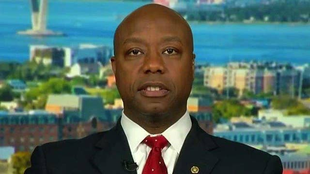 Sen. Scott: Political attacks distract from serious issues