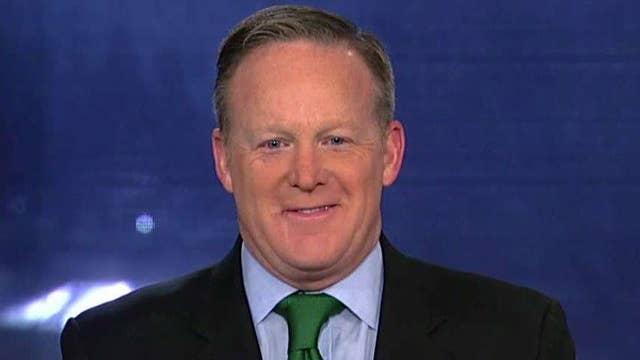 Spicer rips media over leak