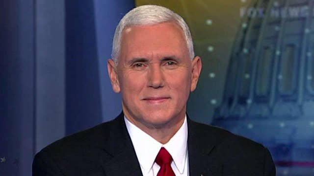Mike Pence on Rep. Lewis' comments, US-Russia relations