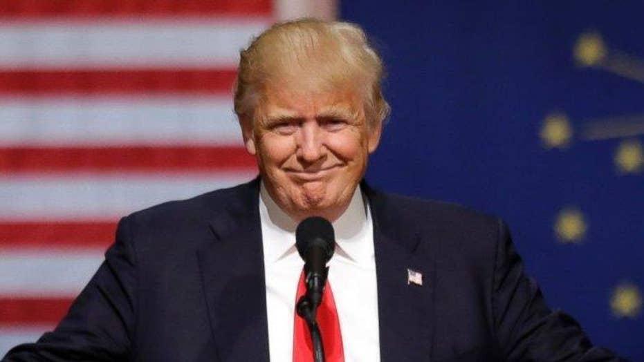 Media echoing 'illegitimate' Trump?