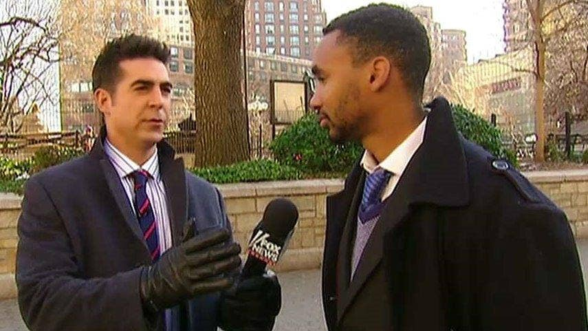 Jesse Watters asks the folks about race relations in the United States on 'The O'Reilly Factor'