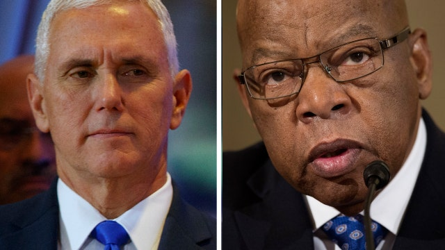Mike Pence: I'm so disappointed in Rep. Lewis