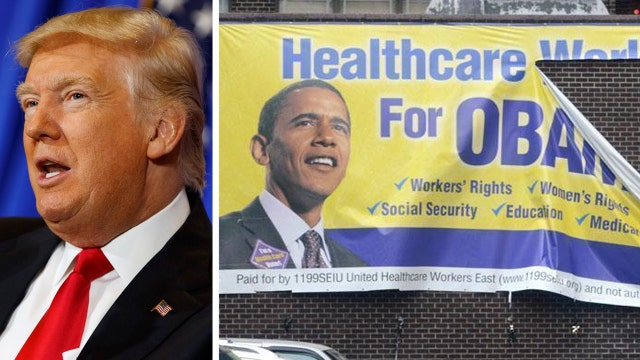 Trump says ObamaCare replacement is nearly ready