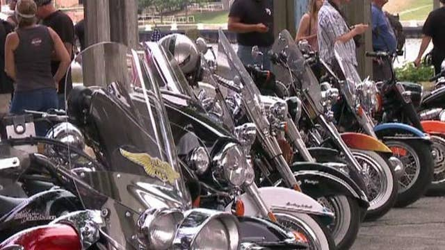 Bikers for Trump say they have the president-elect's back